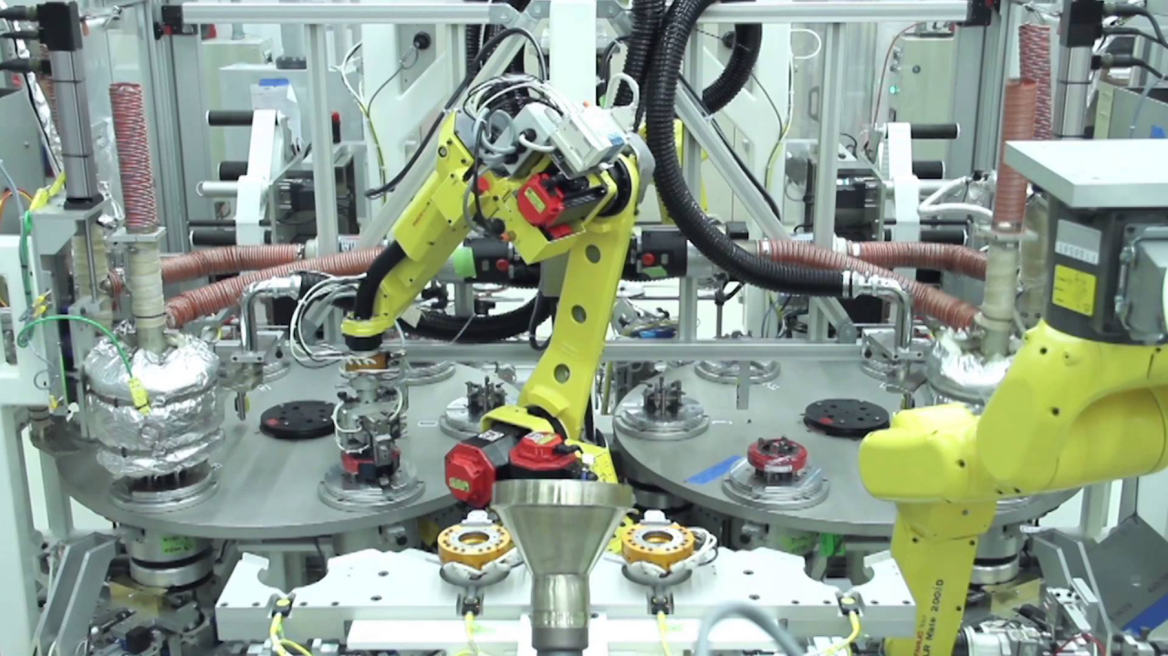 automated robotic assembly system for electrical cable
