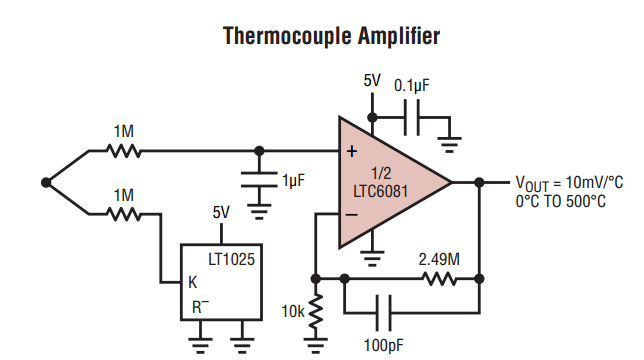 temperature sensor thermocouple design considerations