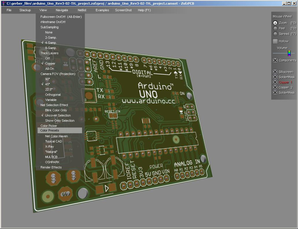 Exporting Gerber Files From Eagle And View Your Design In 3d Using An Board Example Schematic Viewer7