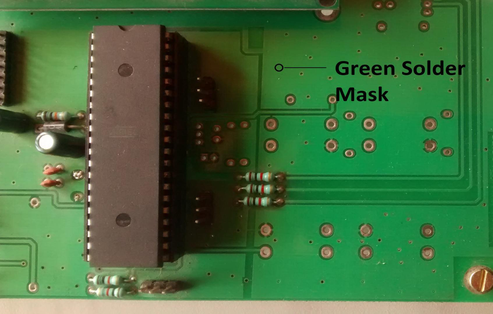 How Green Pcb Board Has Become A Standard In Manufacturing Custom Circuit Cost Solder Mask Is Actually Thin Polymer Layer Covering The Surface To Prevent Oxidation And Bridges
