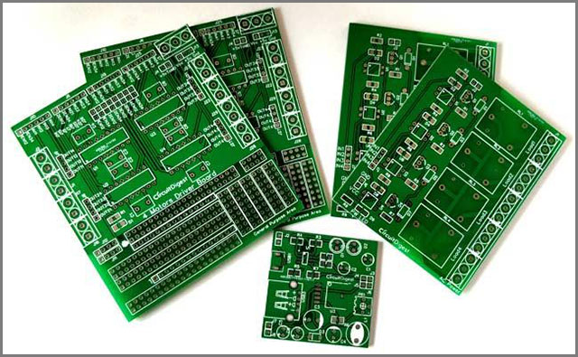 what are circuit boards made of