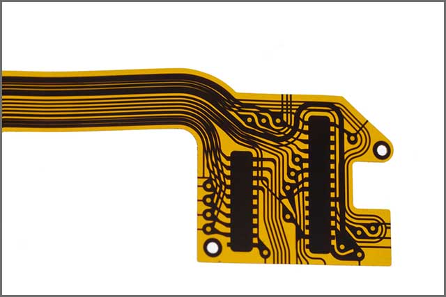 A flexible printed circuit board