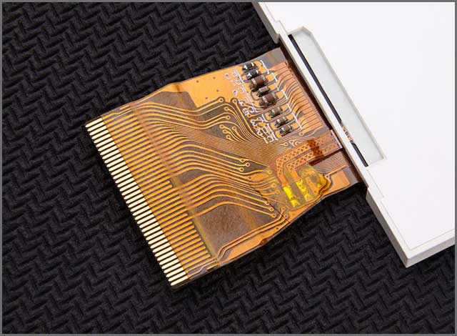 Flexible printed circuit board attached to its application