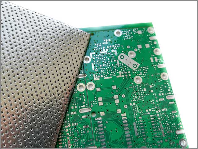 It shows an HDI PCB material for EMC