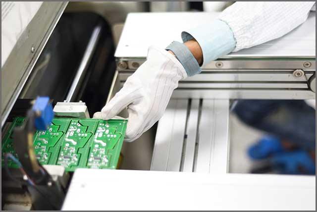 Printed circuit board factory
