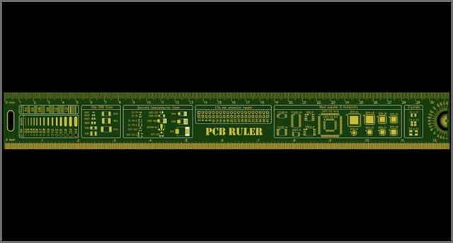 A PCB Ruler