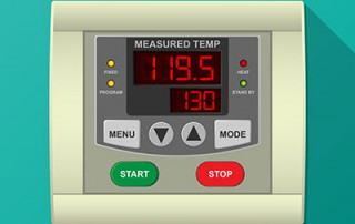 Oven PLC Temperature Controller