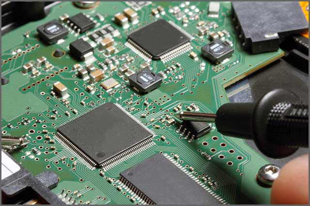 An image of a Surface Mount PCB