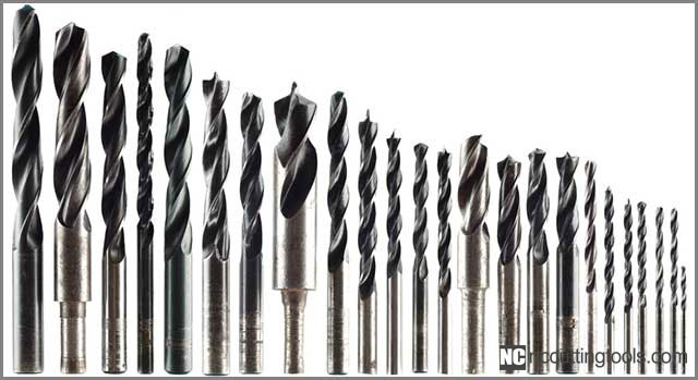Different Sizes of Drill Bit