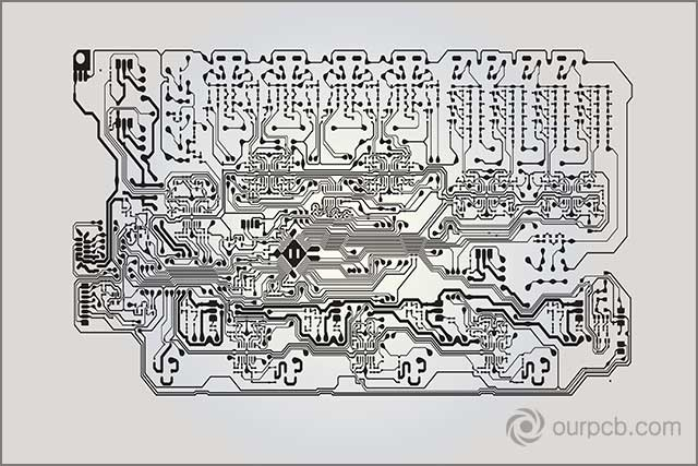 Circuit Board Technology Information Pattern Concept Vector Background