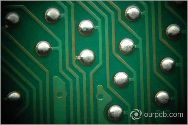 PCB joints. Pinholes and blowholes can occur on these joints during PCB soldering