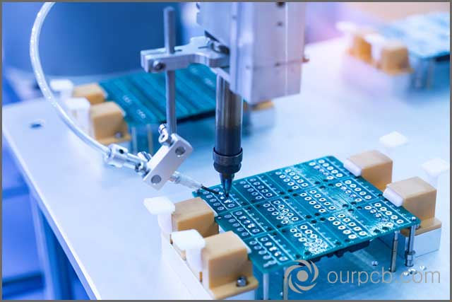 automated solder printing for effective PCB production
