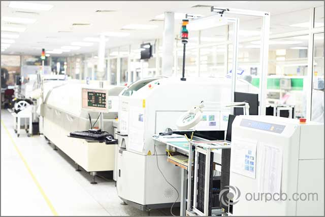 SMT production line machines