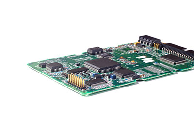 PCB board in the motor controller