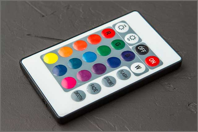 Led light WiFi remote)