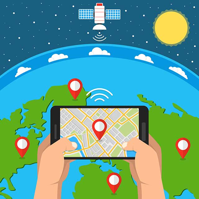 We are yet to develop mobile apps for GNSS and LoRa