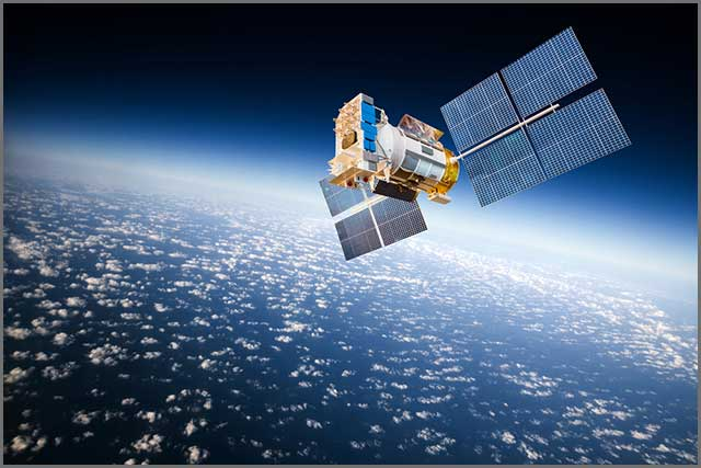 GPS also uses satellites for position tracking
