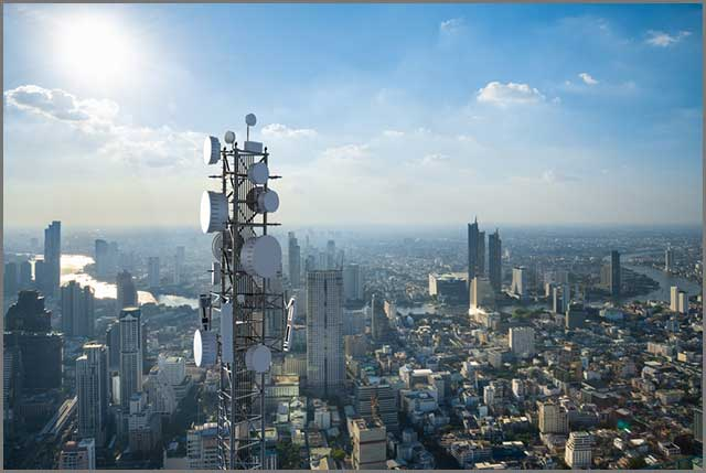 5G base station tower