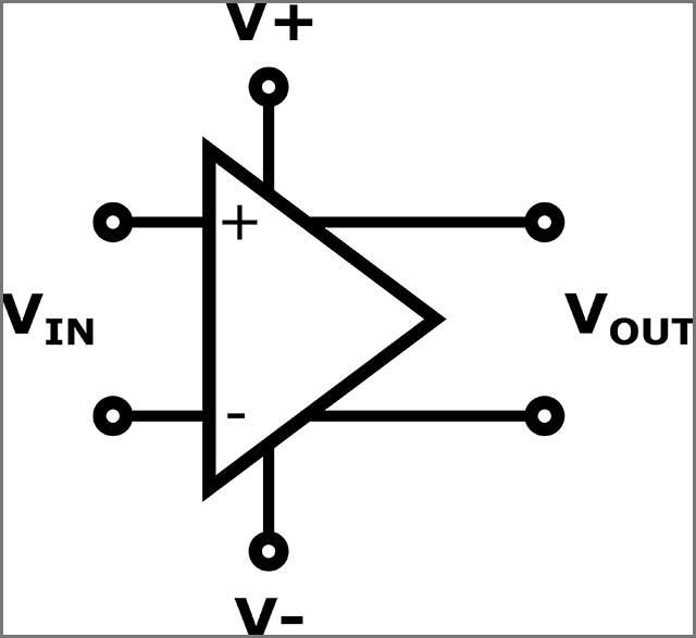 Schematic of Generic Op-Amp
