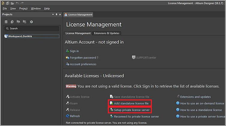 ST1-License-Management