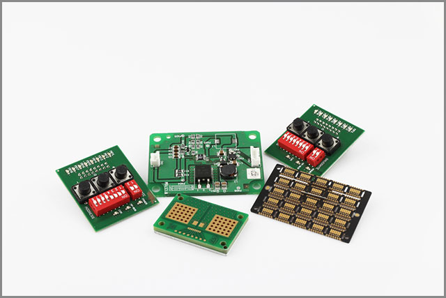 Display a plurality of types of circuit boards