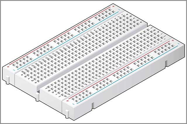 Breadboard vs. PCB