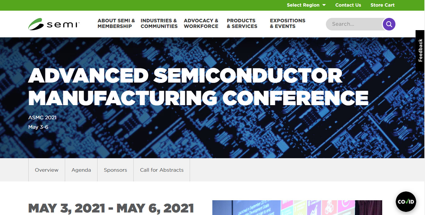 Advanced Semi-conductor Manufacturing Conference (ASMC)