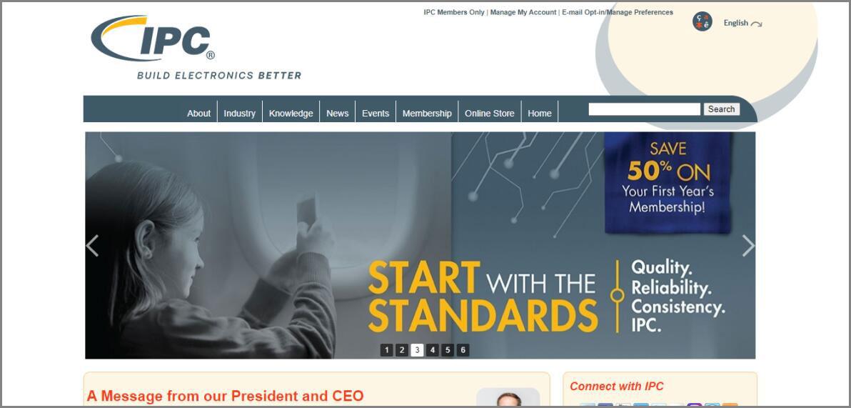 IPC standards-- ipc.org