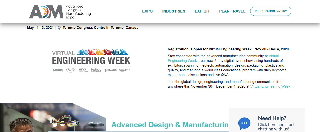 Advanced Design & Manufacturing Expo