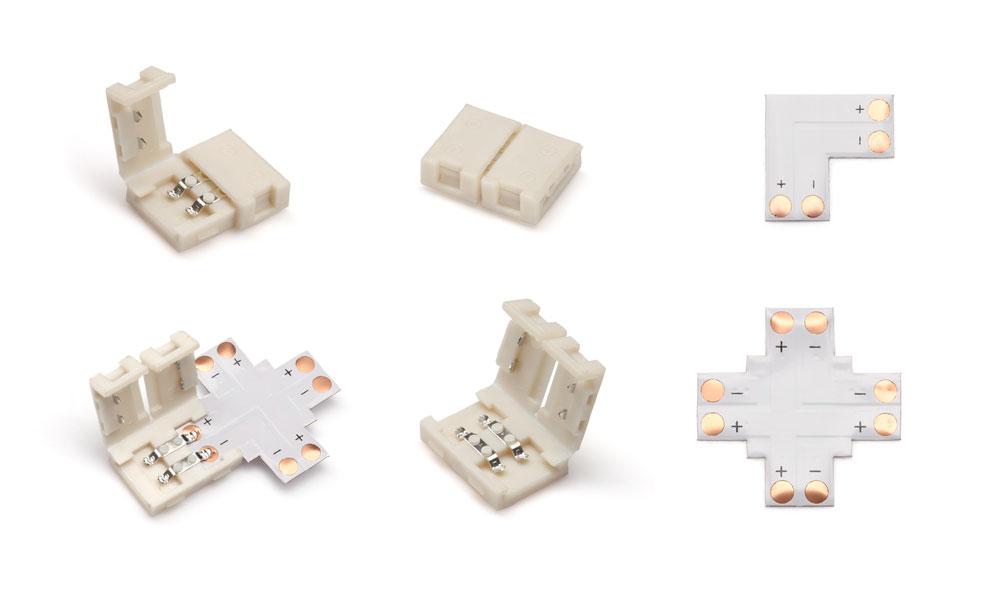 L-shaped connectors