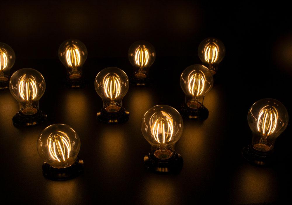 Graphene LED