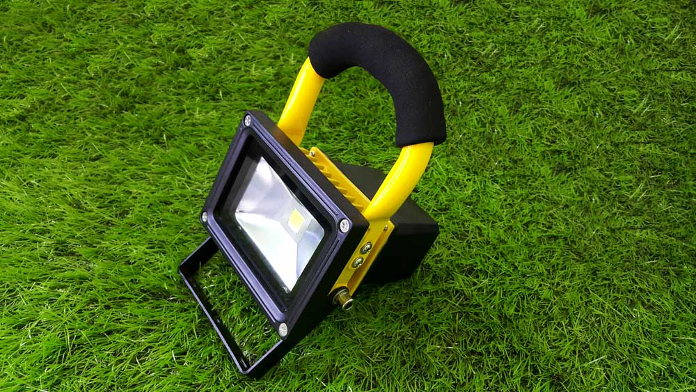 LED floodlights for work