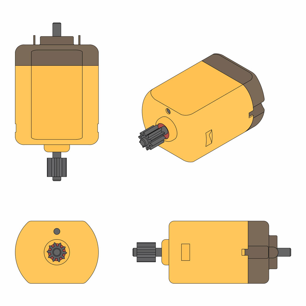 Image showing a DC Motor