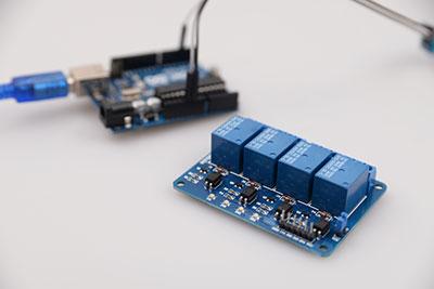 Relay microcontroller