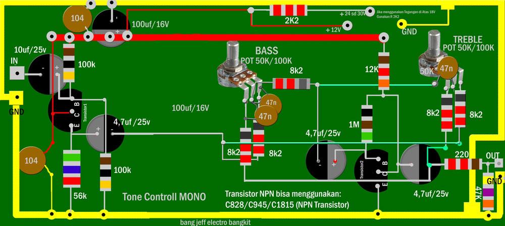 Preamp circuit