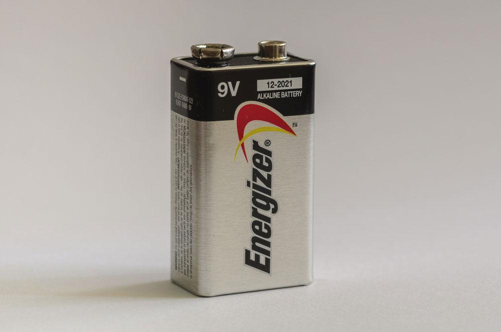 Battery 9V power supply
