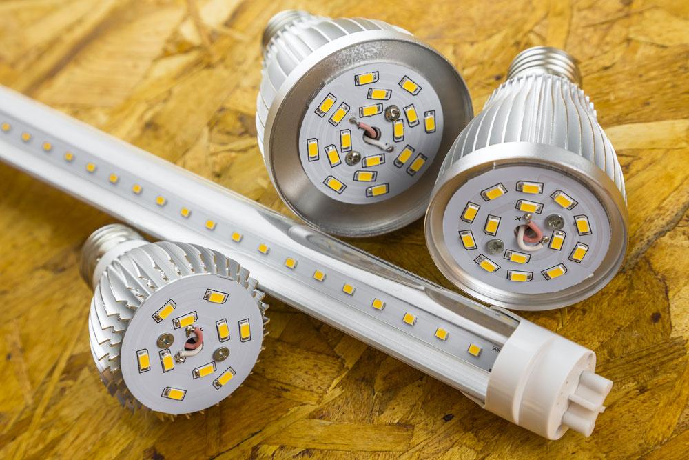 A LED Tube and bulbs