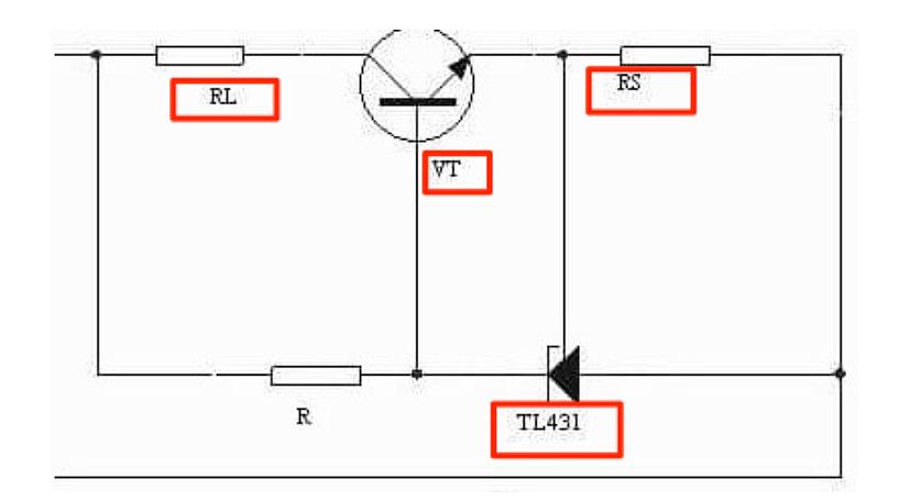 Circuit diagram of Comparator