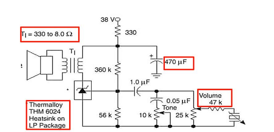 Circuit diagram for Voltage Monitor