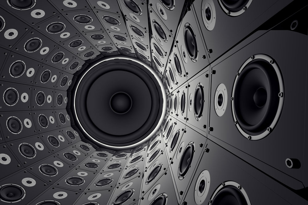 A Wall of Speakers