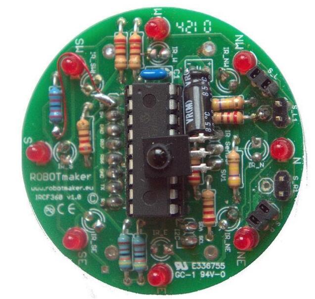 3D infrared motion sensor
