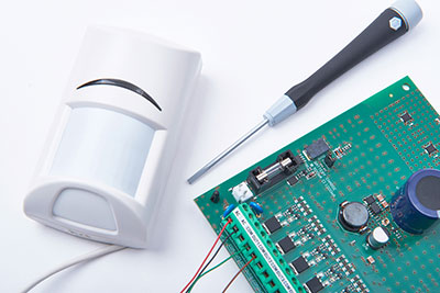 In the IR detector circuit / sensor circuit, technologists often tackle their functions in detecting liquid level or proximity. Its operation involves using the reflection of an infrared beam to examine the distance present from the target. For the Infrared sensor circuit, we will use an IR photodiode and an IR LED. A major thumbs up on setting up this circuit is that there won't be any physical contact with the liquid's level that you are aiming to measure. Furthermore, you will only need one installation since it lacks corrosive elements, therefore, having high longevity. https://cn.depositphotos.com/106464358/stock-photo-motion-infrared-detector-connected-to.html - IR sensor How does an IR detector work? The principle of working of an IR detector applies three laws. Wien's displacement law, Planck's radiation law, and Stephen – Boltzmann law An infrared sensor works similarly to an object detection sensor. Its components, an IR photodiode, and the IR LED combine to form an octo-coupler/photocoupler. IR LED; operates by emitting Infrared radiation. Usually, the infrared receiver (in photodiodes form) will detect the IR radiations via infrared transmitters. However, it's impossible to see the radiation emitted by human eyes. IR Photodiodes; They stand out from standard photodiodes since their sole function is to detect IR radiation. After combining the above two components, the IR photodiode will be the receiver while the IR LED will take the place of a transmitter. Note: If you use the IR receiver and transmitter's combination, you should ensure that the receiver's wavelength equals the transmitter. As an infrared LED generates infrared light, the infrared photodiode develops sensitivity and responds to the light. Ultimately, there's a proportion of the photodiode's internal resistance and output voltage change to the infrared light that the object has obtained. https://cn.depositphotos.com/58755121/stock-illustration-isometric-single-board-microcontrollers.html P