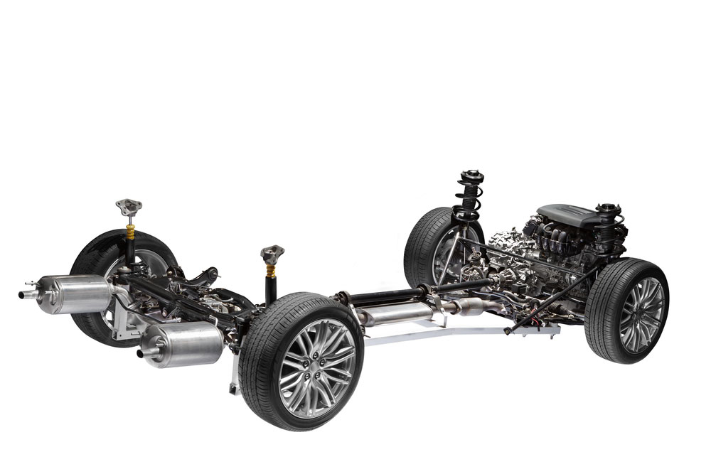 example of a car chassis
