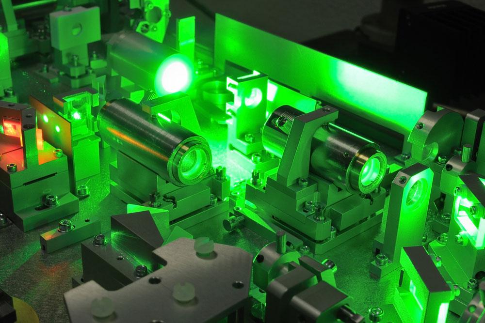 Several Powerful Laser Beams
