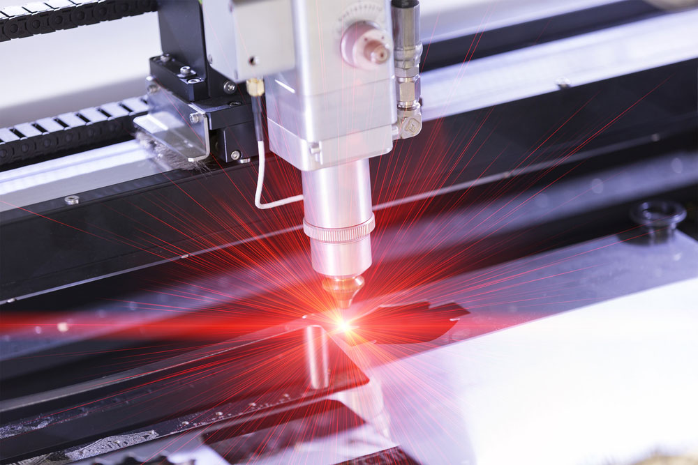 A Laser Beam Cutting Metal